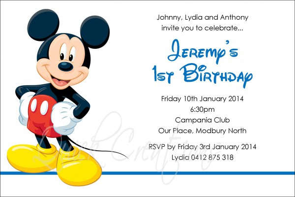 mickey mouse birthday invitation card template ; Mickey-Mouse-Birthday-Invitation-Card3