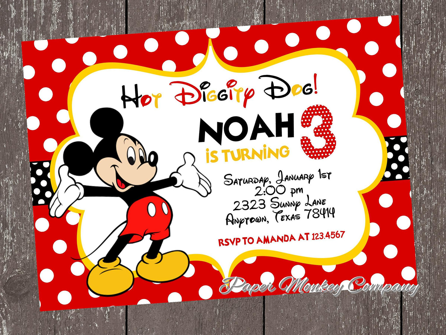 mickey mouse birthday invitation card template ; mickey-mouse-photo-birthday-invitations-for-the-invitations-design-of-your-inspiration-Birthday-Invitation-Templates-party-18