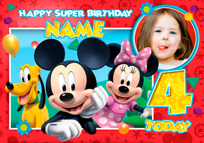mickey mouse clubhouse birthday poster ; Card_Disney_MickeyCH_PU_Group_L