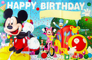 mickey mouse clubhouse birthday poster ; s-l300