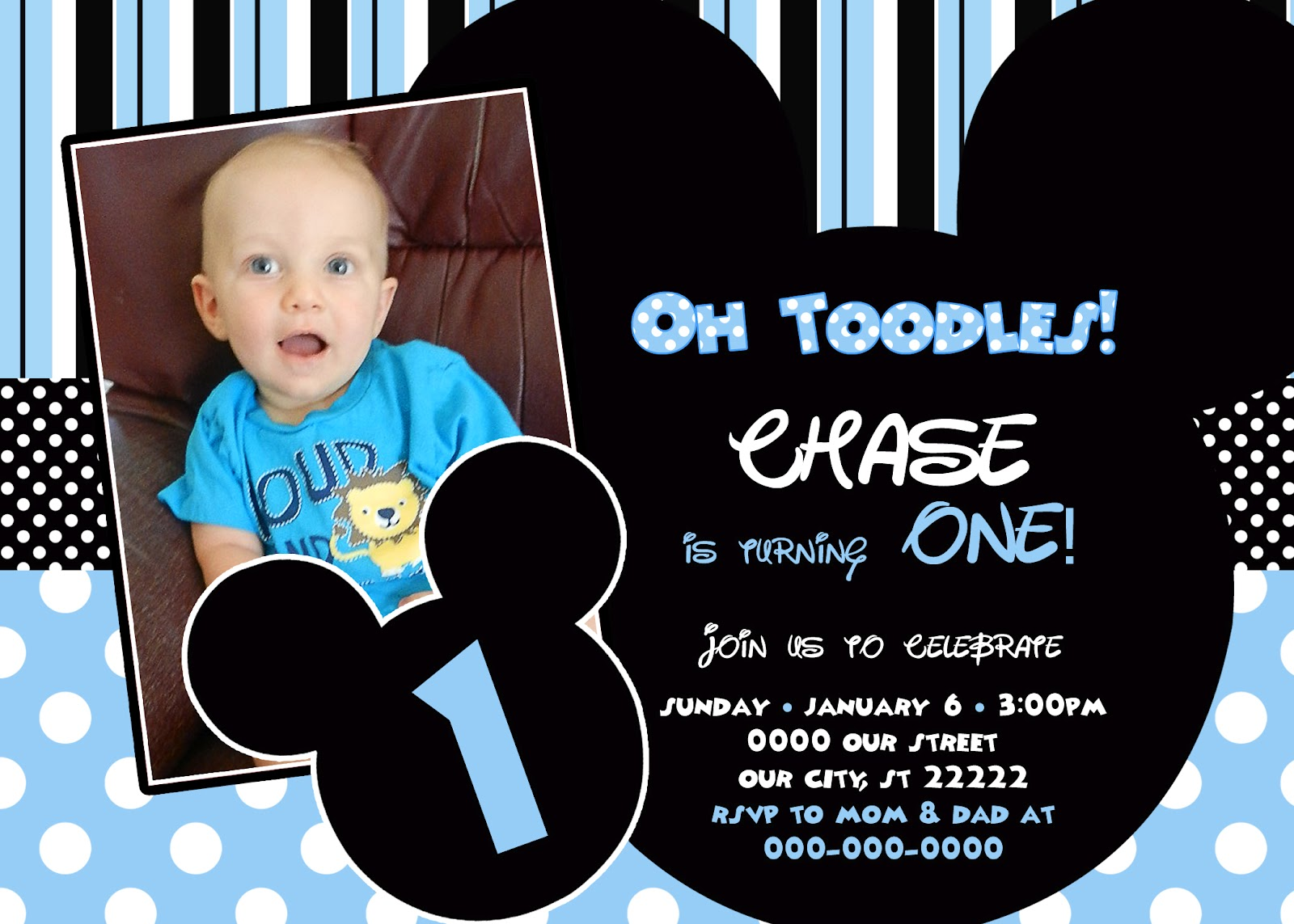mickey mouse first birthday photo invitations ; baby_mickey_mouse_1st_birthday_invitations_6