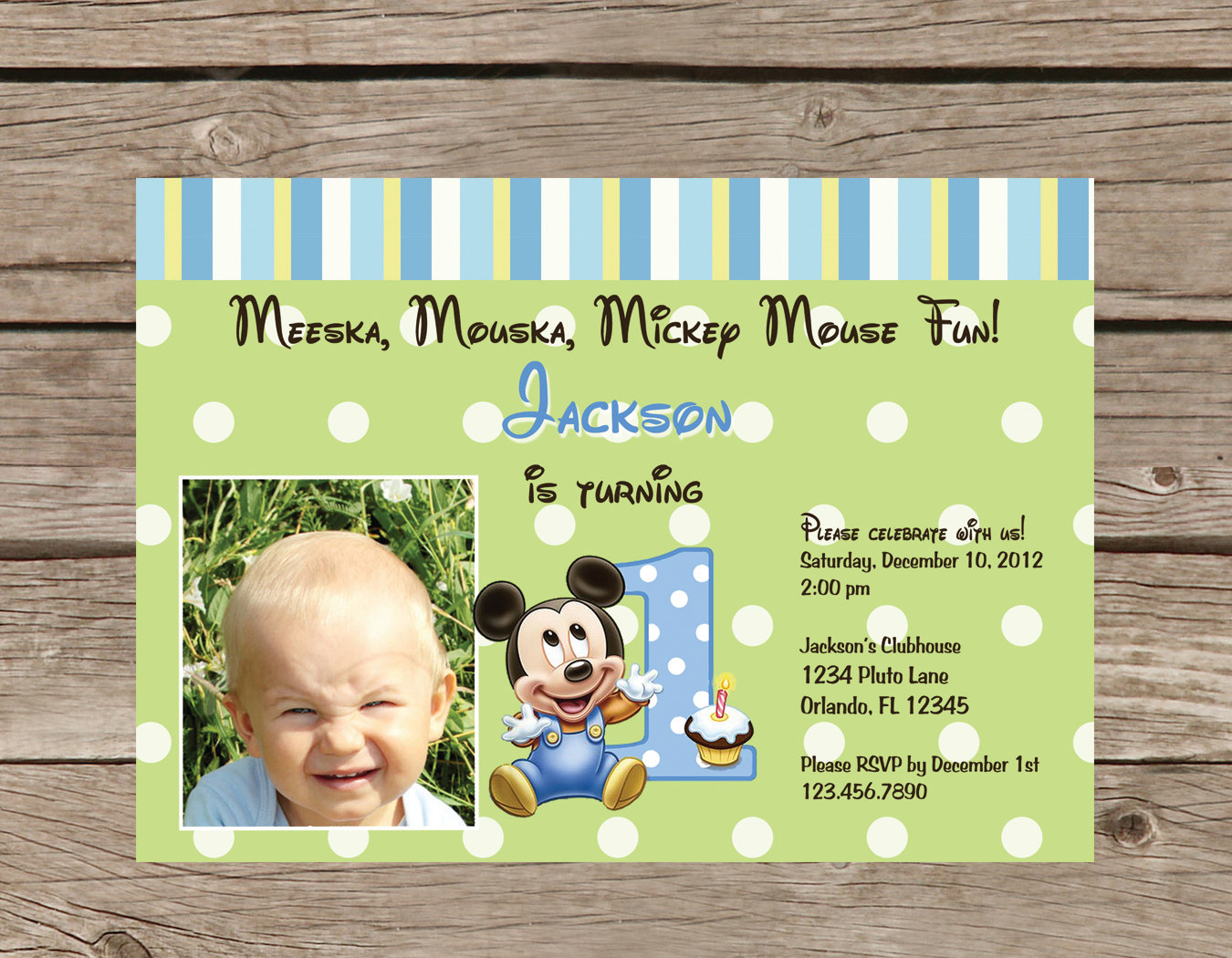 mickey mouse first birthday photo invitations ; mickey-mouse-first-birthday-invitations-including-beautiful-Birthday-Invitation-Templates-with-full-of-pleasure-environment-19