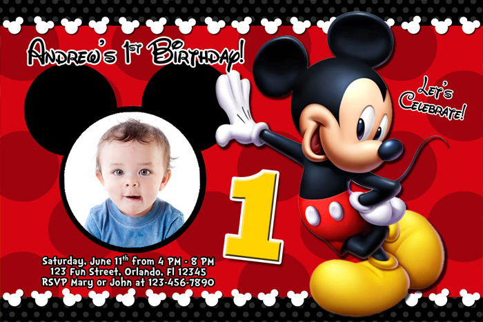 mickey mouse photo birthday invitations ; mickey-mouse-photo-birthday-invitations-for-the-invitations-design-of-your-inspiration-Birthday-Invitation-Templates-party-4