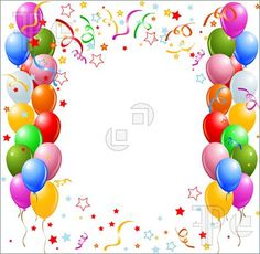 microsoft happy birthday clip art ; 931c9ee078052a68515d3e9458da85ae--borders-and-frames-balloon-designs