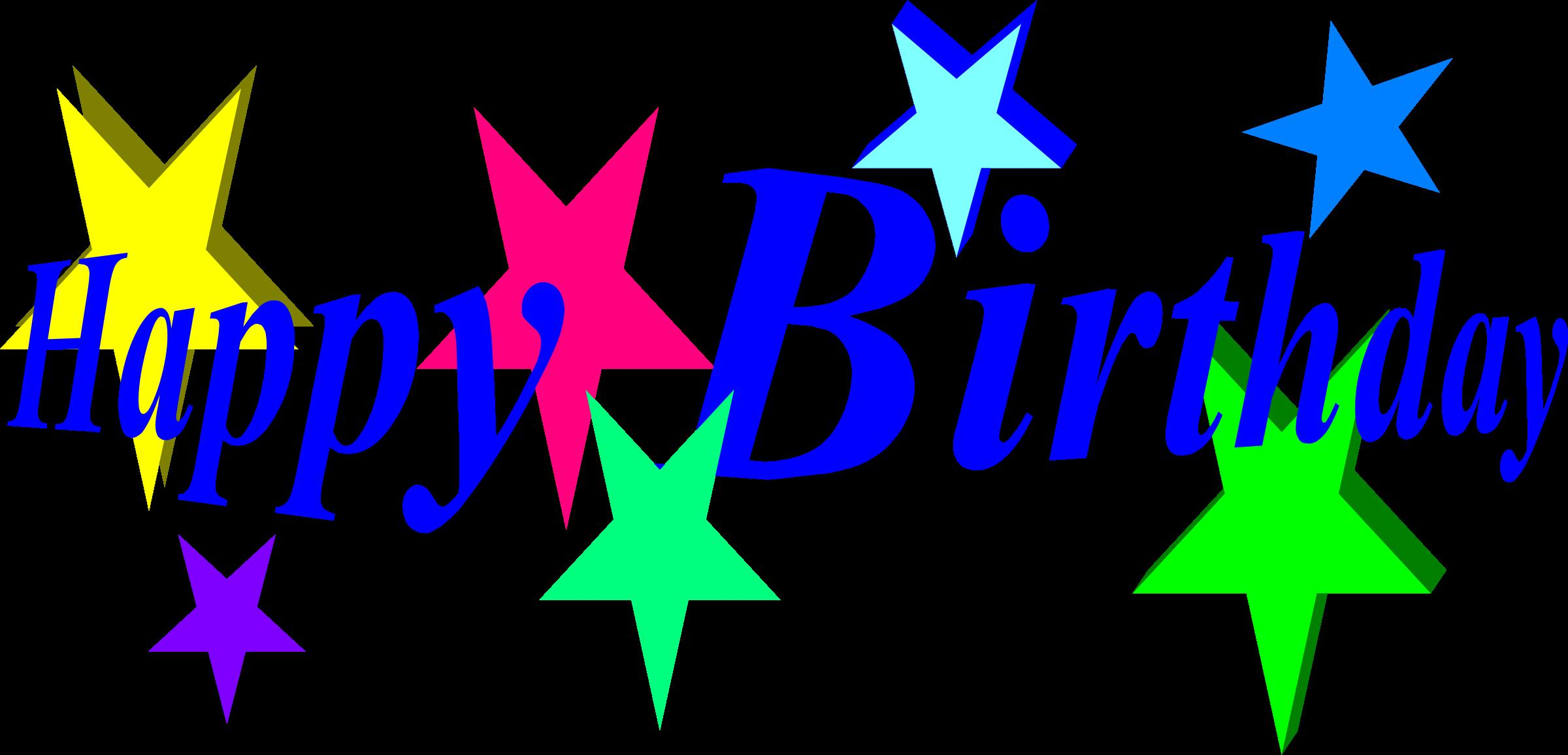 microsoft happy birthday clip art ; happy-birthday-with-stares