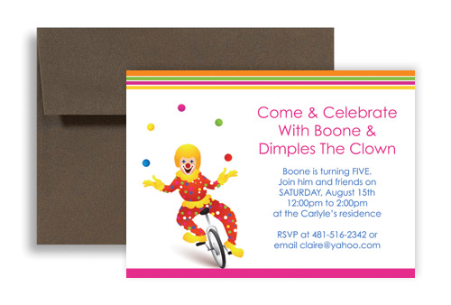 microsoft office birthday invitation templates ; birthday-invitation-ideas-circus-clown-themed-kids-lgKID-1024
