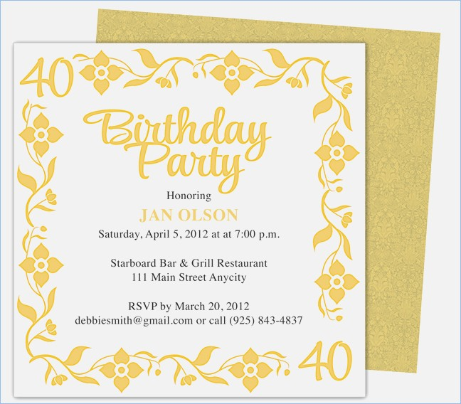 microsoft word birthday invitation template ; free-40th-birthday-party-invitation-templates-birthday-invites-of-40th-birthday-invitation-template-word