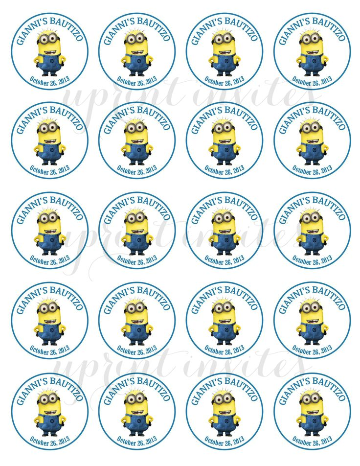minion birthday stickers ; 5d3c56e0167cd1e27845dc549817db8c--uprint-birthday-kids
