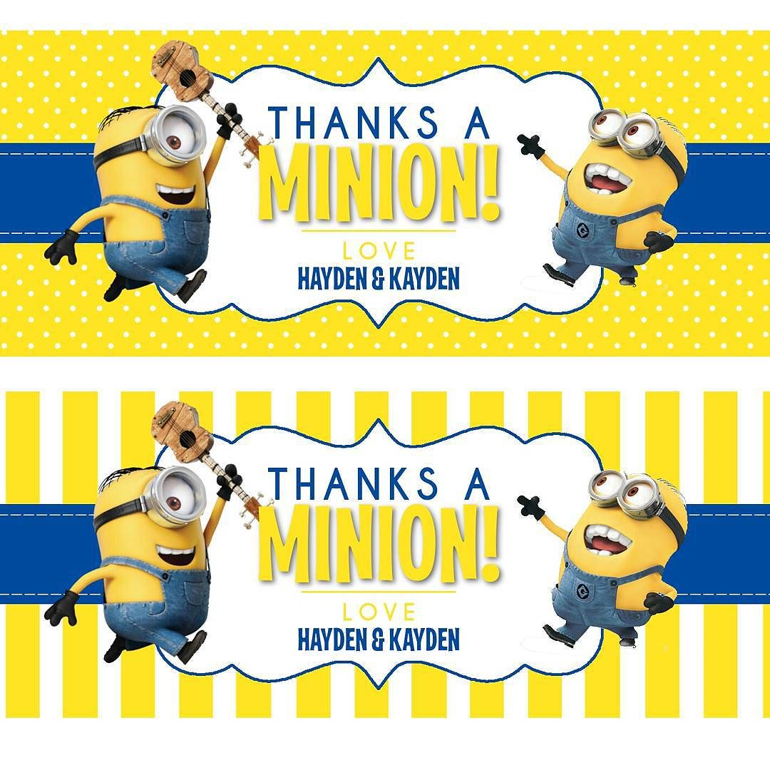 minion birthday stickers ; 865e0e8f9630e8a3669bad52c3a576f9