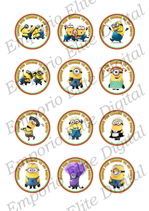 minion birthday stickers ; 9d6922d10a1b2d5b2099140924403b21