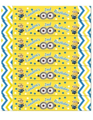minion birthday stickers ; ace4676442a417e28885c0238f701eea