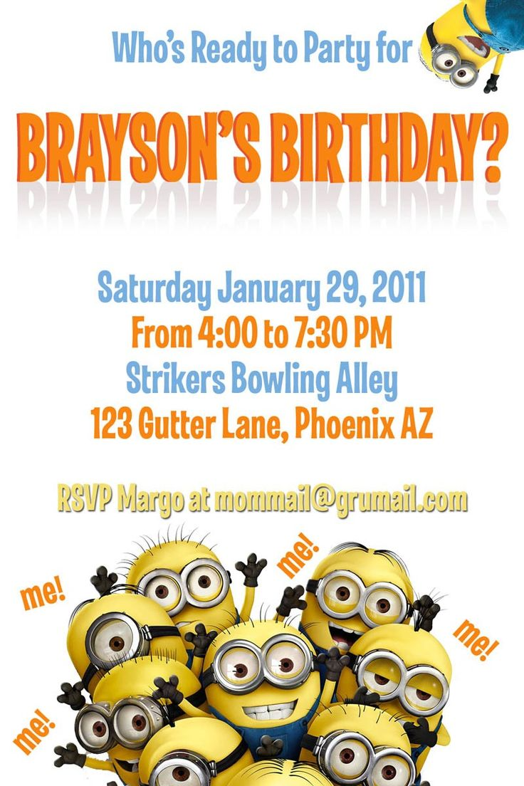 minions birthday invitation card template ; invitation_birthday-invitation-templates-minion-birthday-business-certificate