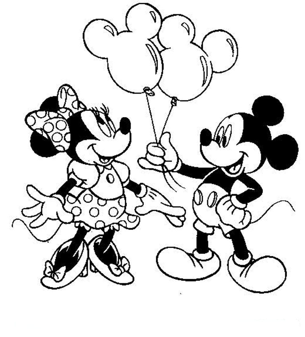 minnie mouse birthday coloring pages ; minnie-mouse-birthday-coloring-pages