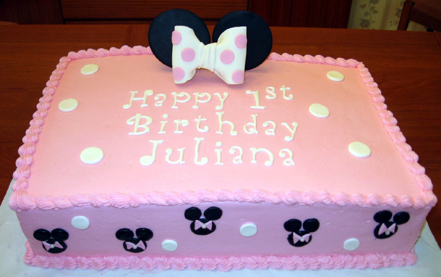 minnie mouse birthday sheet cake ; 900_6684123TAz_minnie-mouse-sheet-cake