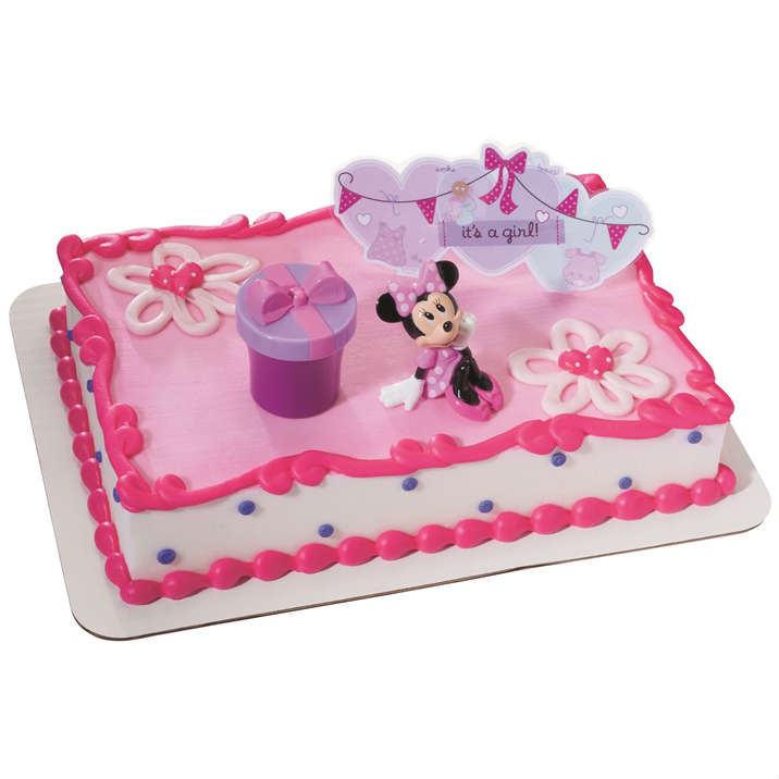 minnie mouse birthday sheet cake ; Minnie-Cake-square