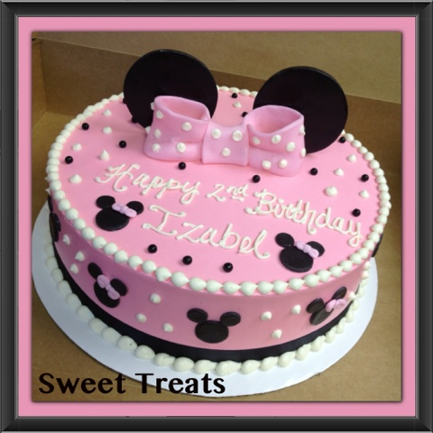minnie mouse birthday sheet cake ; c36c805ba308342693ed970ba83ec7bc