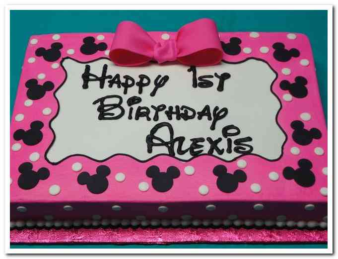 minnie mouse birthday sheet cake ; minnie-mouse-birthday-sheet-cake