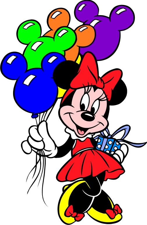 minnie mouse clipart birthday ; 20e574cde111c24a8ea804d235175711