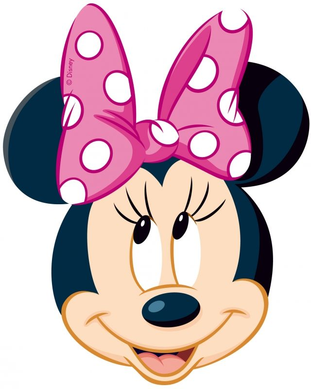 minnie mouse clipart birthday ; 52880bef3137ff9753629a4b8e414f94
