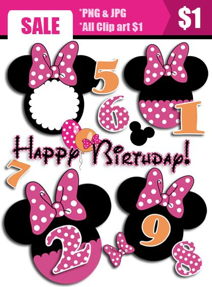 minnie mouse clipart birthday ; minnie-mouse-birthday-clipart-mikkey-party-clip-art