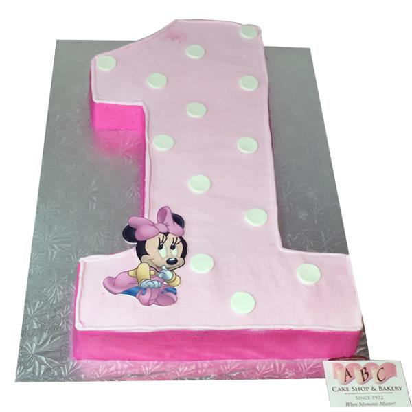 minnie mouse first birthday sheet cake ; 1st-Birthday-Minnie-Mouse