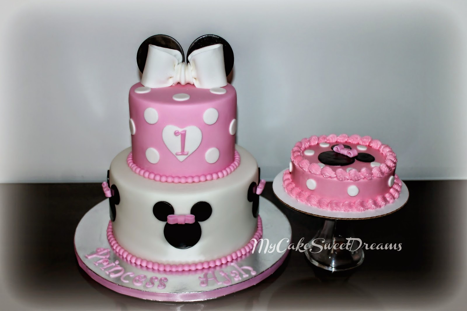 minnie mouse first birthday sheet cake ; Minnie%252BMouse%252B1st%252BBirthday%252BCake