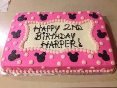 minnie mouse first birthday sheet cake ; aed27e617077648d3f531b48937edc22--minnie-mouse-cake-mickey-mouse
