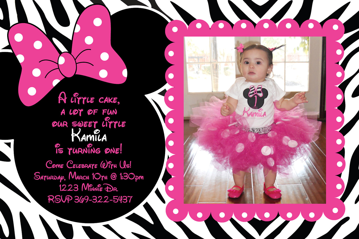 minnie mouse photo birthday invitations ; tips-minnie-mouse-birthday-invitations-personalized-templates-with-alluring-layout