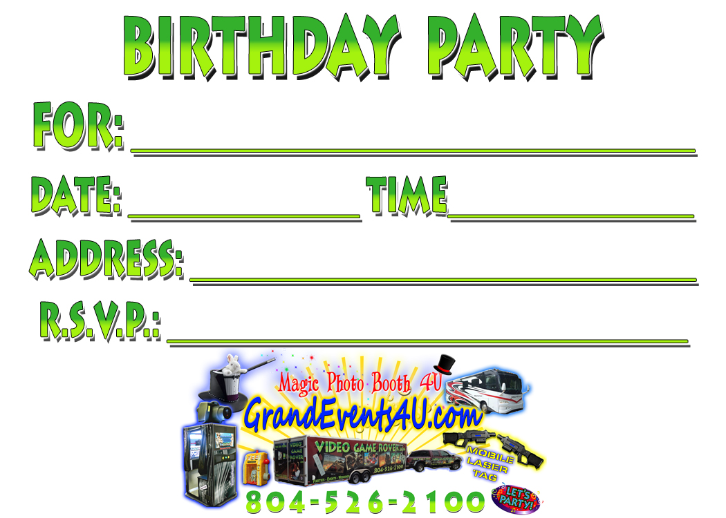 mobile laser tag birthday party ; comboinvitation_back_2_2014