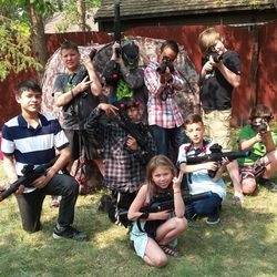 mobile laser tag birthday party ; ls