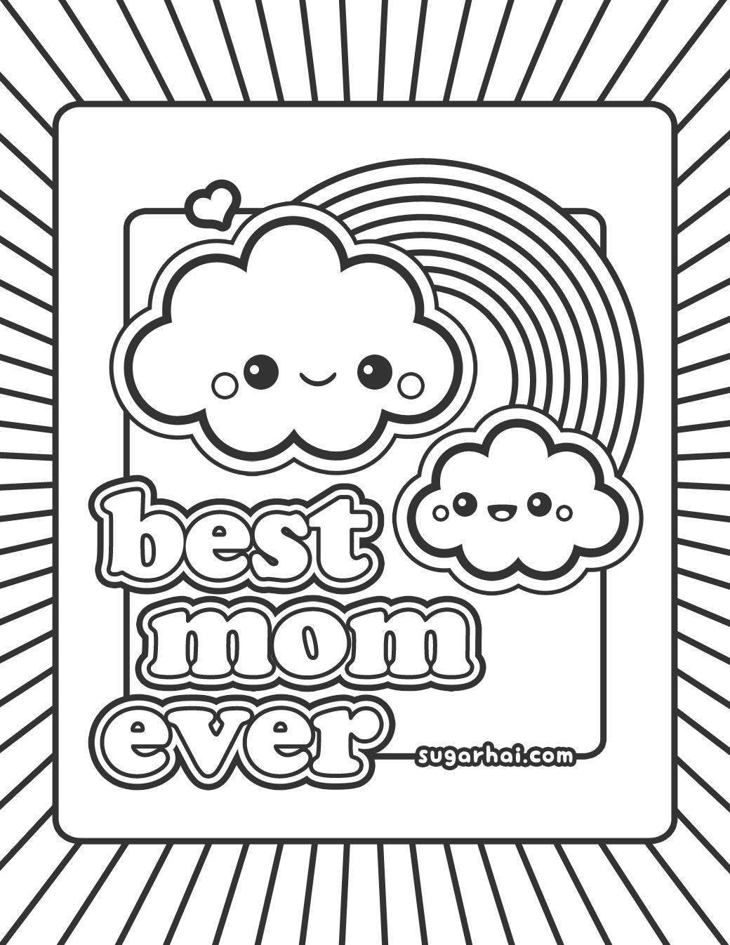 mom birthday coloring pages ; mom-birthday-coloring-pages-1