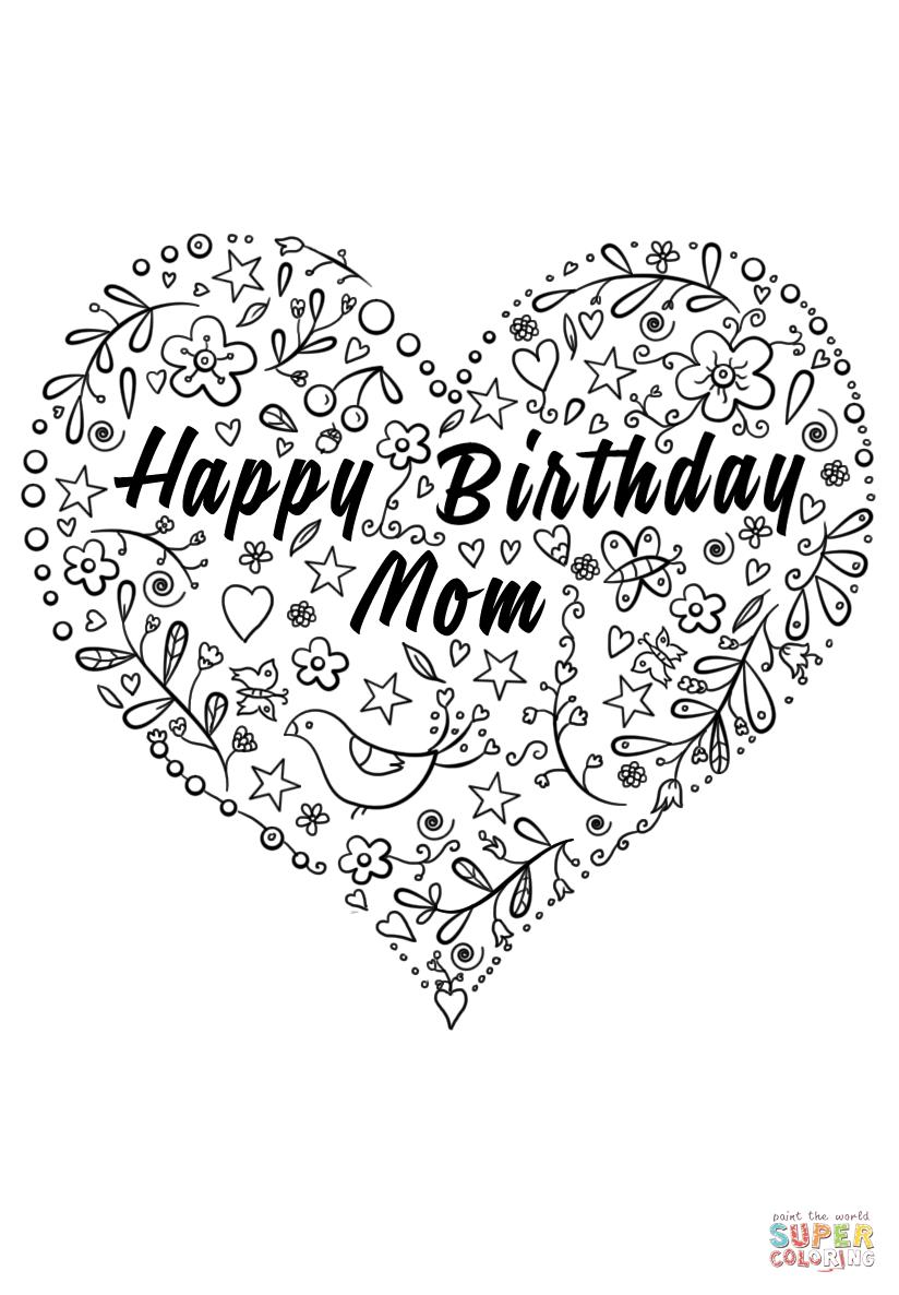 mom birthday coloring pages ; mom-birthday-coloring-pages-8