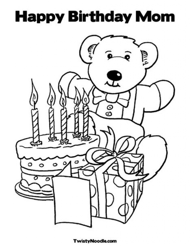 mom birthday coloring pages ; mom-birthday-coloring-pages-9