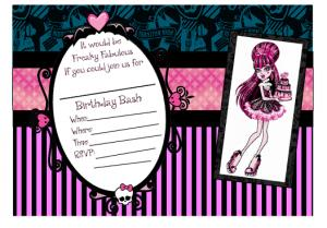 monster high birthday invitation templates free ; 954c1ad0d4cb3d13794e724271534d8c