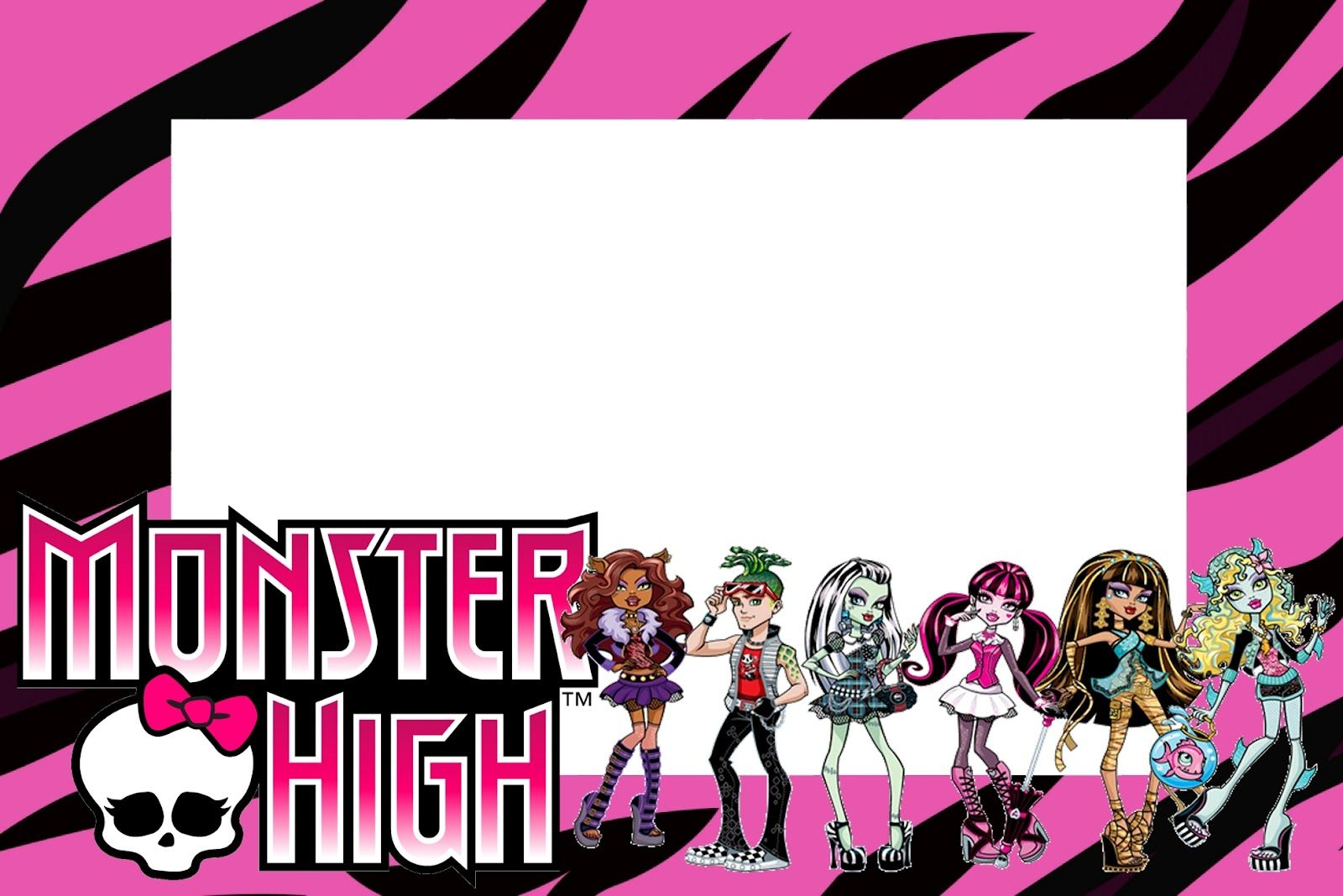 monster high birthday invitation templates free ; daeb2f5cc6b1aa3eda5bc66027133098