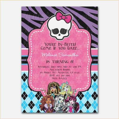 monster high birthday invitation templates free ; monster-high-party-invitations-of-monster-high-party-invitations