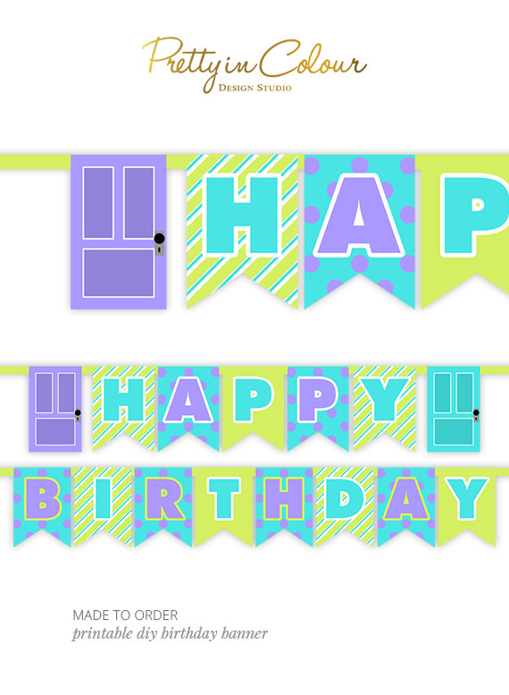 monsters inc birthday banner ; 5616682c2975c763493a780e57362bee