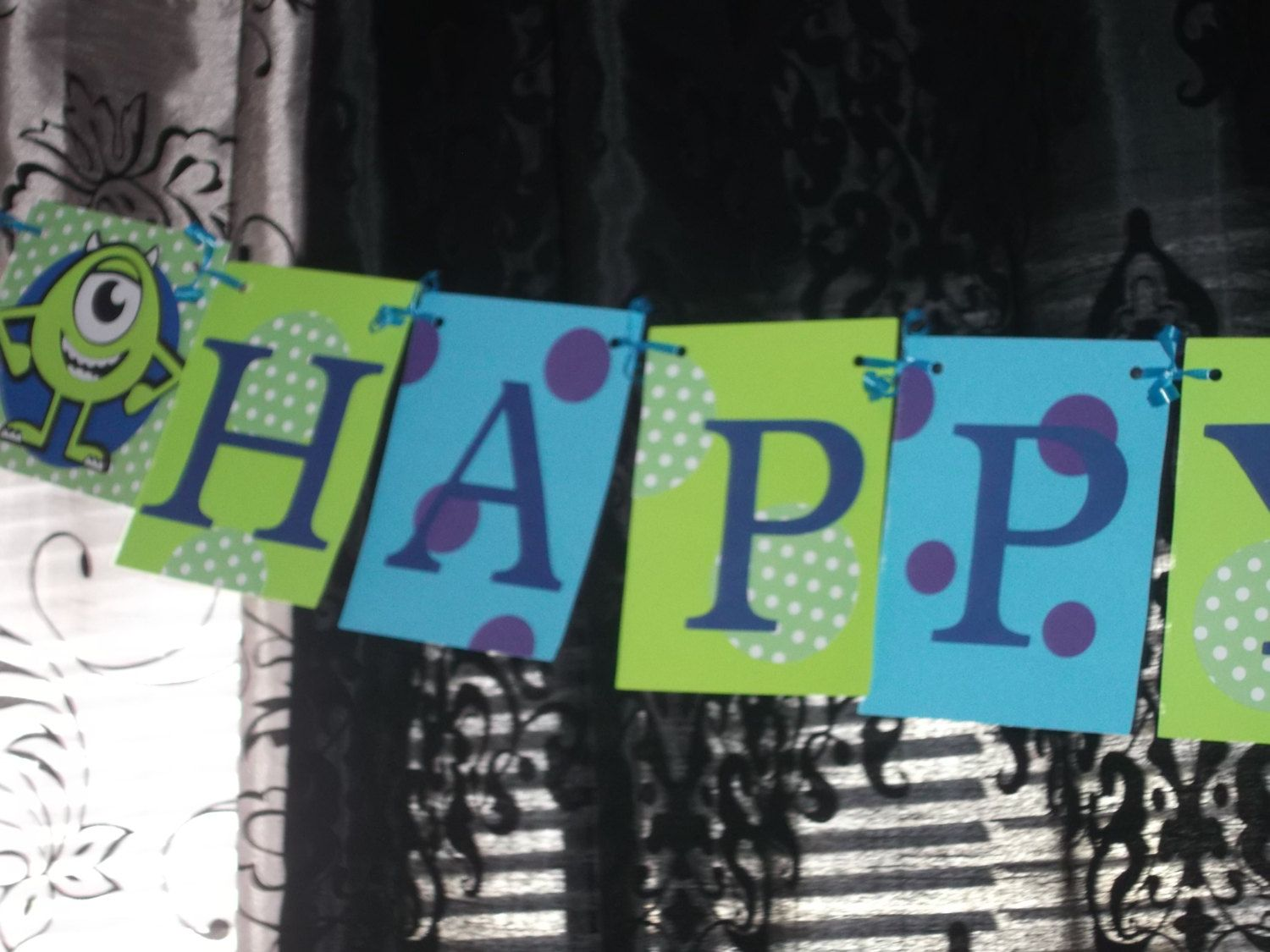 monsters inc birthday banner ; dc6a71f5d8b78f5f3b75a731ae642d06