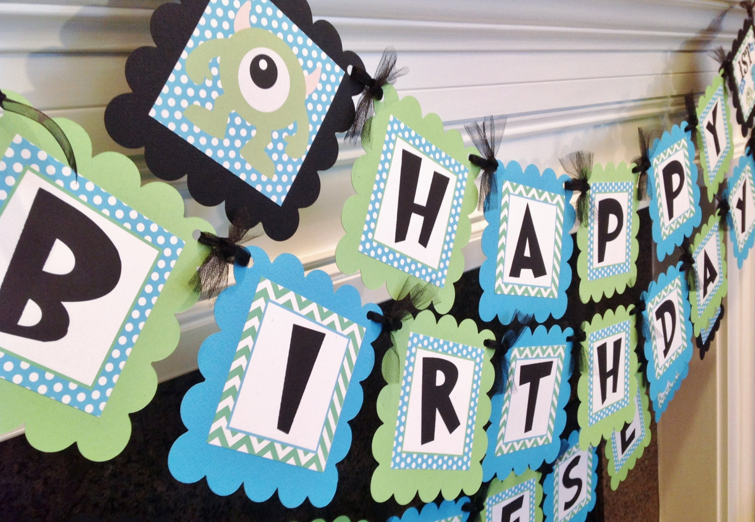 monsters inc birthday banner ; monster-inc-birthday-party-decorations