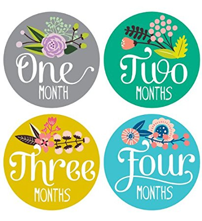 monthly birthday stickers ; 51734So4aSL
