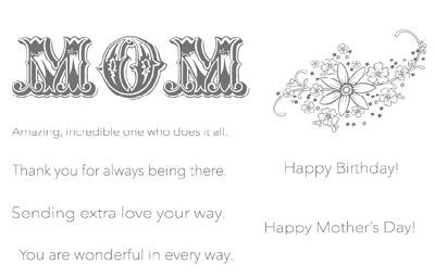 mum birthday card message ; Messages+for+Mom