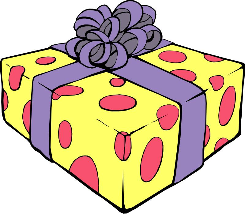 my birthday clipart ; Gift4_Birthday_Clipart_Pictures