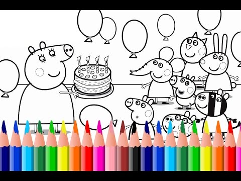 my birthday party drawing for kids ; hqdefault