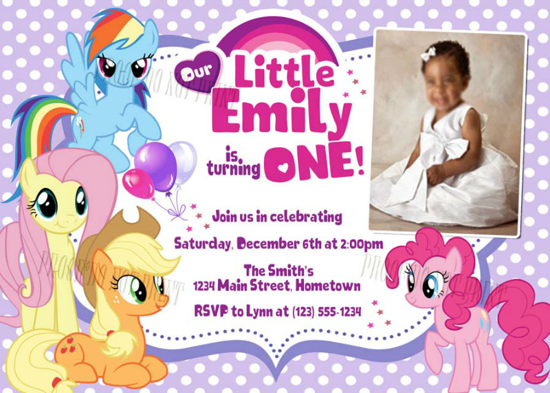 my little pony birthday photo invitations ; larger-view_personalized-printable-invitations-my-on-create-my-little-pony-birthday-party-invitations-free-anouk