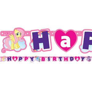 my little pony happy birthday banner ; 1