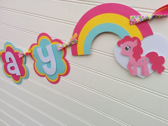 my little pony happy birthday banner ; 11a8c72aa5b96a4cd094f4bd5411a3aa