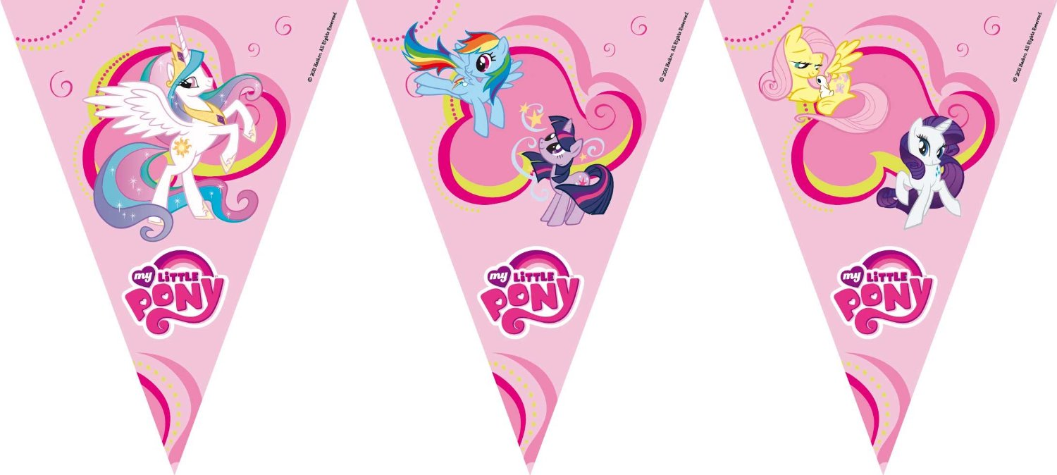 my little pony happy birthday banner ; 98aed1bbd17cfef8b6106b47eedf1ba5