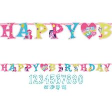 my little pony happy birthday banner ; s-l225