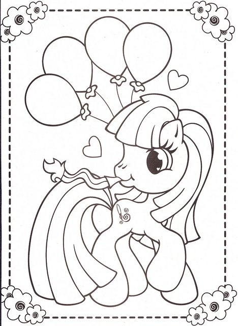 my little pony happy birthday coloring page ; 606f82d8c039d24148a48de6c72ae81e