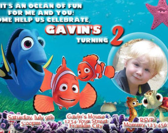 nemo birthday invitation template ; finding-nemo-birthday-invitations-with-awesome-Birthday-Invitation-Templates-as-a-result-of-an-application-using-a-felicitous-concept-20